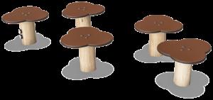 Nénuphars module de jeux Kompan Atmosphäre