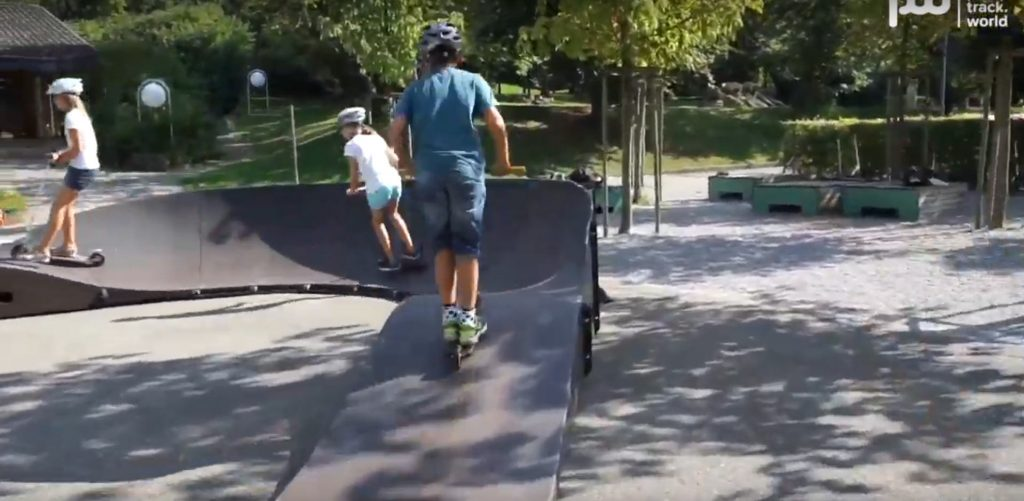 What happens if you put a Modular Pumptrack inside a school?