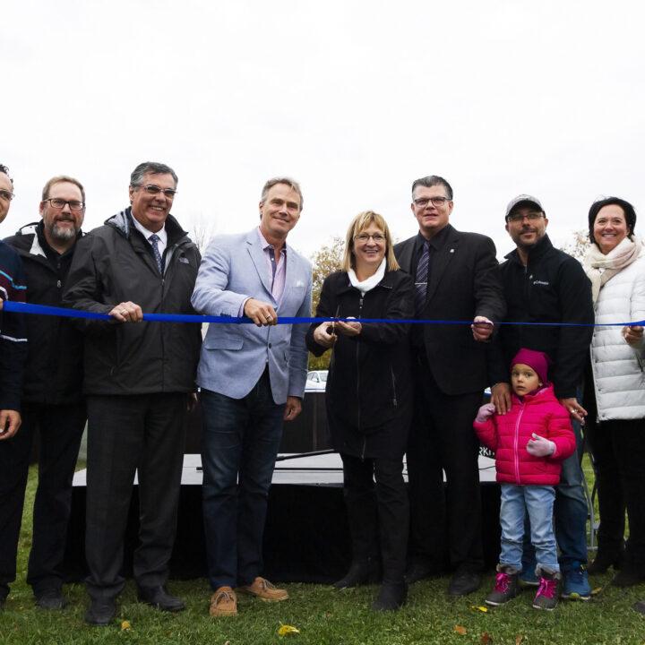 Inauguration d'un Espace Pumptrack à Mercier