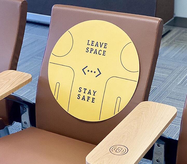Autocollants pour sièges et sol