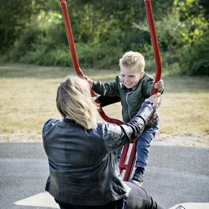Siège de balançoire parent/enfant