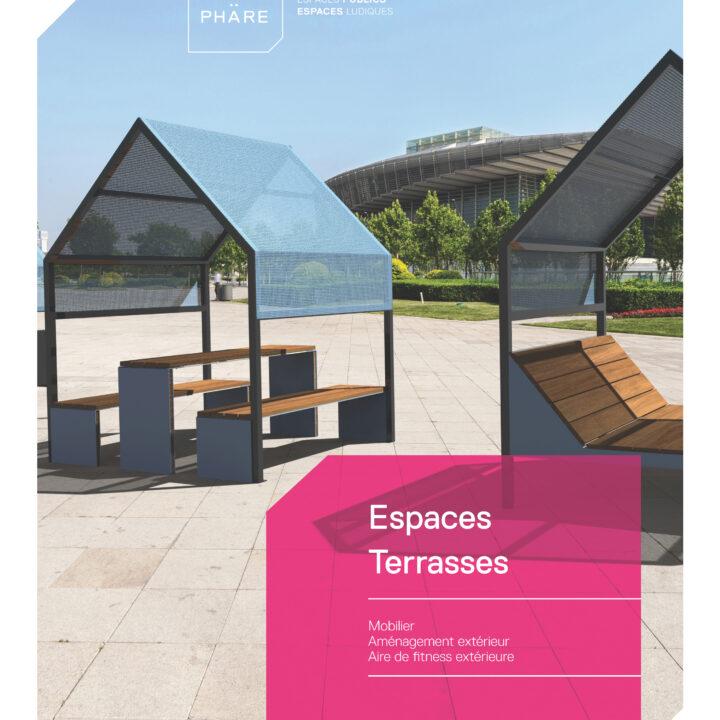 Espaces Terrasses – Brochure Atmosphäre