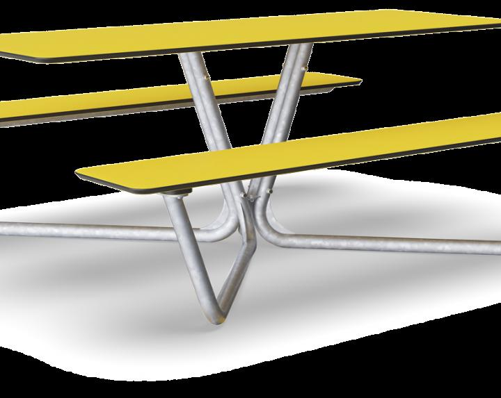 Table Piquenique Agora HPL